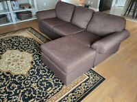 Dark Brown Sectional Sofa Kijiji In Ontario Buy Sell Save With Canada S 1 Local Classifieds