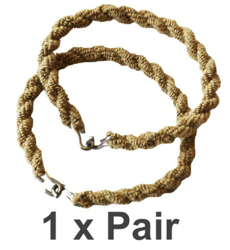 1 x Pair Trouser Twists Bungee Twist Elastic Leg Ties Army Combat Boots Military