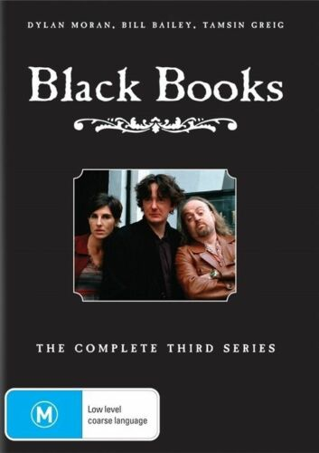 1 of 1 - B3 BRAND NEW SEALED Black Books : Complete Series 3 Season 3 (DVD, 2004)