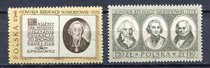 35860) Poland 1973 MNH Natl. Education Commission 2v