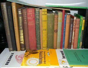 27-Beekeeping-Interest-Books-Collection-Joblot-Hardback-amp-Paperback-Booklets