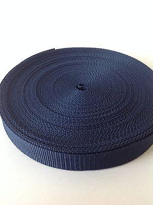 20 Meters of 25mm Nylon Webbing Tape