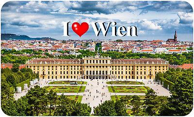 Motiv: I Love München I Magnetschild Magnet Kühlschrankmagnet