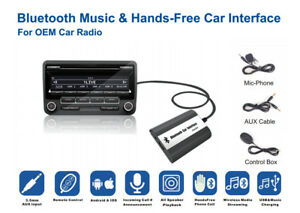 Bluetooth-Kits-Hands-free-Stereo-AUX-Adapter-Interface-For-Toyota-Lexus-Scion