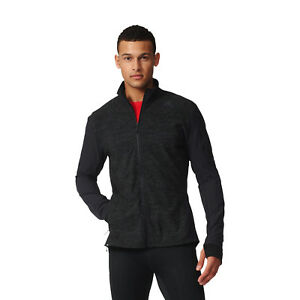 Details about Adidas Men Jacket Running Supernova Storm Zipper Training Climalite Black S94396
