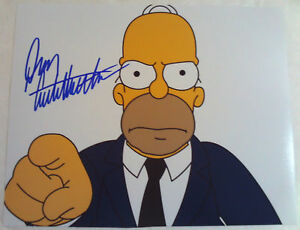 DAN-CASTELLANETA-Homer-Simpson-Autographed-Photograph-Autograph-THE-SIMPSONS