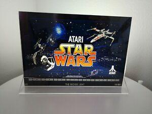 STAR-WARS-Cockpit-Backlit-7-75-034-x-11-034-Marquee-w-The-Arcade-Light-XL-Display