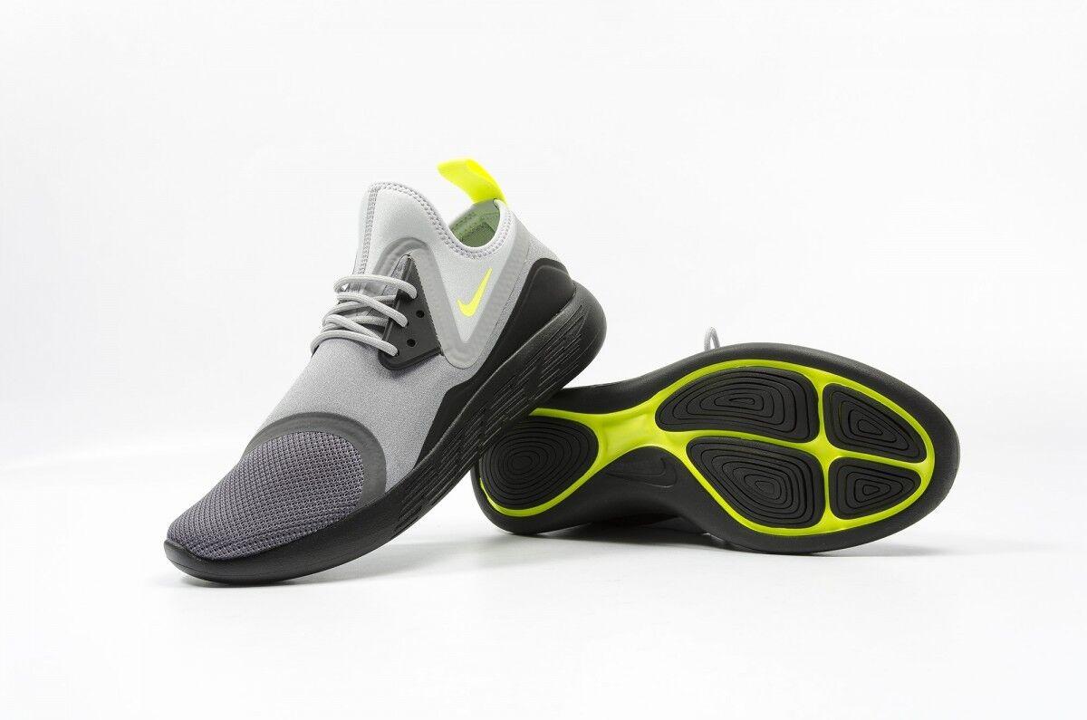 Nib - nike 933811 070 men's lunarcharged mrd. d.gray/ sneaker - Nib 125 dollar schwarz/volt schuh 75fa09