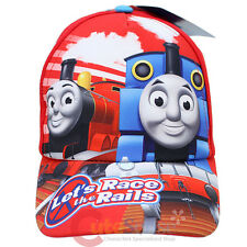 Thomas Tank Engine Friends Kids Hat Thomas James Baseball Cap -Let's Race