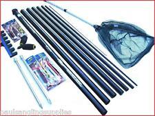 8 m  Ambassador  Starter Fishing Pole 14 Elastic Fitted /& Float Rigs Roller Kit
