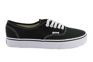 VANS Authentic Schwarz Black Schuhe Sneaker Classic Skater Freizeit Halbschuhe