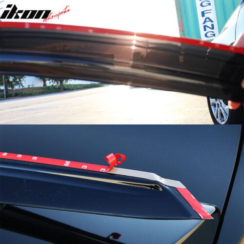 Fits 00-07 Ford Focus Mugen Style Acrylic Window Visors 4Pc Set