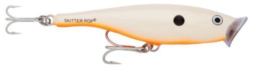 40g Orange Bone Wobbler Oberflächenköder Popper Rapala Skitter Pop 12cm