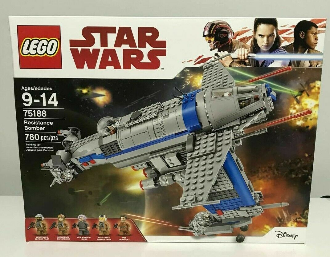 Pinzón Dallow-Raro Nuevo Sellado Lego Star Wars bombardero de resistencia 75188