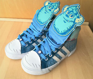 repentinamente Marquesina marca  NEW | RARE ADIDAS - Monsters University Inc Trainers [SIZE 13 Kids] Sully  Pixar | eBay