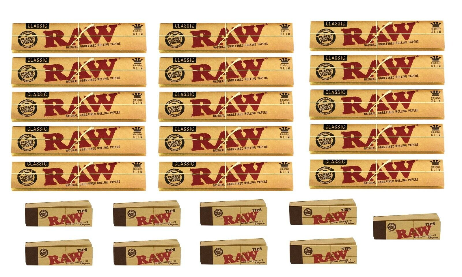 Raw Rizla Classic King Size Slim 110mm Rolling Paper With
