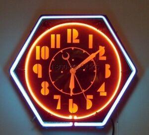 Domain-Name-www-NeonClocks-com-Antique-Vintage-Electric-Neon-Clock-Clocks