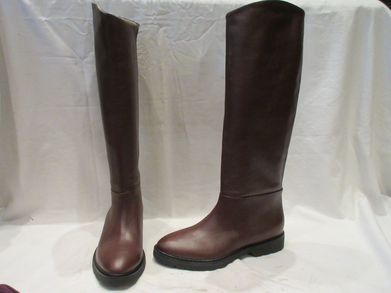 NEW WITH DEFECTS HOBBS ON LONDON PIPER BROWN PULL ON HOBBS BOOTS UK 6 EU 39 US 8 (1509) 186bb1
