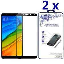 2x for XIAOMI REDMI 5 Plus 5.99-inch Full Cover Tempered Glass Screen Protector