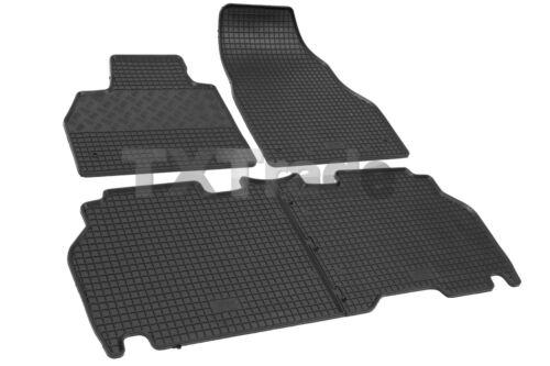 Fußmatten passgenau TOP Qualität MERCEDES CITAN ab 2012 Gummifußmatten