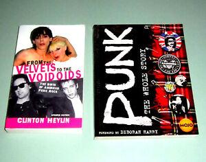 2 Books AMERICAN UK PUNK ROCK MC5 STOOGES ROTTEN SEX PISTOLS VICIOUS psychedelic