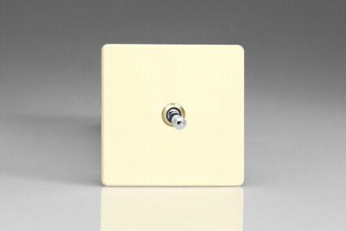 Varilight Screwless chocolat blanc toggle Dolly 10 A Interrupteur de lumière 1 2 3 4 Gang