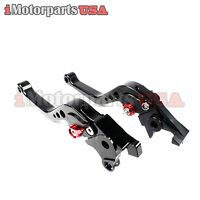 1998-2003 Suzuki Tl1000r Short Brake Clutch Levers Set Anodized Adjustable