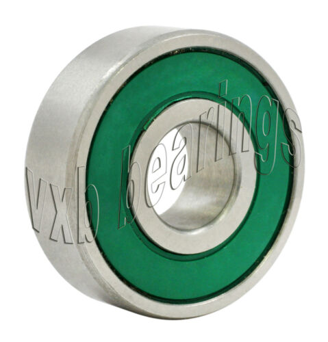Set 8 Skateboarding Skating Premium Quality Sealed Ball Bearings 608 Green Seals
