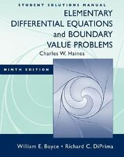 Elementary Differential Equations and Boundary Value Problems by William E....