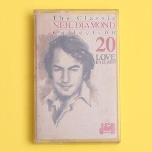 The-Classic-Neil-Diamond-Collection-20-Love-Ballads-Cassette-Tape-JB-313-C