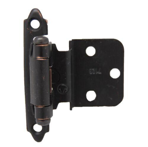 """LOT 20 AMEROCK Steel 3//8/"""" Inset Cabinet Door Hinge Oil Rubbed Bronze CM7128ORB"""