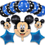 Disney-Mickey-Mouse-Birthday-Balloons-Foil-Latex-Party-Decorations-Gender-Reveal thumbnail 15