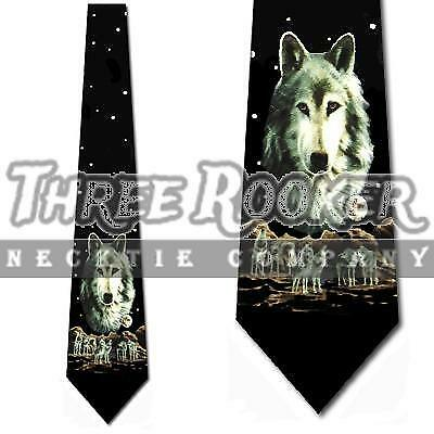 Novelty Gift Starry Siberian Tiger Men Party Wedding Neck Tie Bowtie