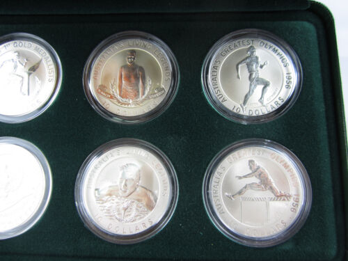 Australia 1994-1996 Complete set of 6 coins in the Olympic Heritage series.