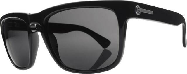 NEW Electric Black Top Sunglasses-Black Gloss-Grey Polarized-SAME DAY SHIPPING!