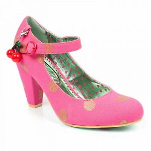 Womens Court The Right Shoe License Heels Pink Stripes Poetic qXUxfY