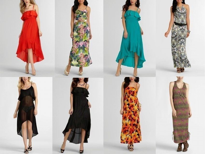 NEW 200 Pcs Wholesale Lot Mixed Summer DressesTops Skirts Rave Casual S M L XL
