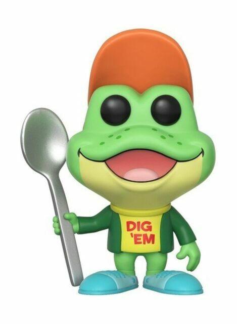 Kellogg/'s Honey Smacks Dig Em/' Frog Vinyl Figure #30674 Funko Pop Ad Icons
