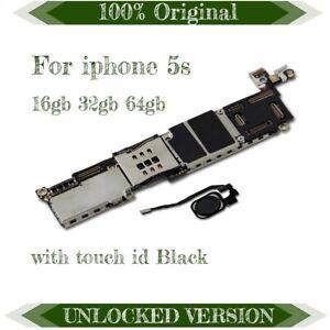 Original Motherboard for Apple iPhone 5S IOS tarjeta madre Mainboard Logic Board