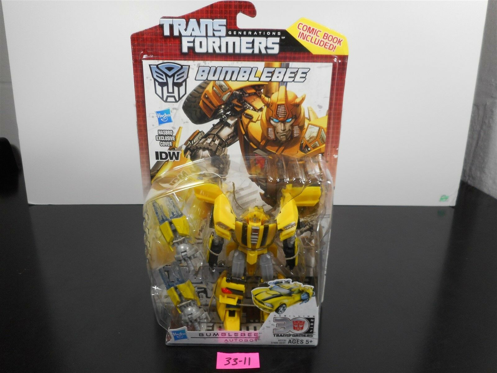 NEW & SEALED  TRANSFORMERS GENERATIONS IDW BUMBLEBEE 30TH ANNIVERSARY COMIC 3311