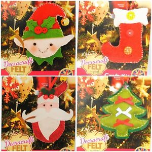 image is loading sew your own christmas craft kits santa tree