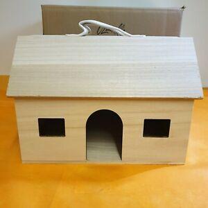 Contemplatif Olli Ella Holdie Wooden Children's Barn Poupées Play House-afficher Le Titre D'origine