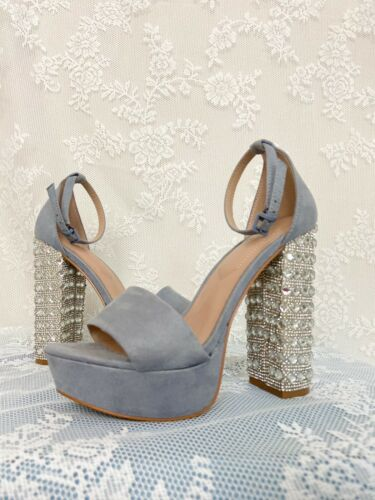 Womens Aldo Shoes 6 Rhinestone Heels