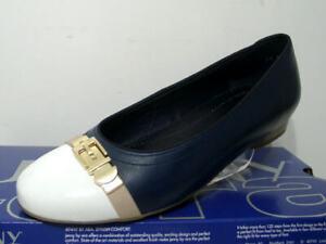 Jenny-Ara-22-53374-05-Damenschuhe-Ballerinas-Leder-Slipper-blau-Gr-36-43-Neu2