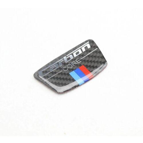 Fibre De Carbone Emblème X 2 Sticker BMW E46 E39 E60 E90 F10 F30 F34 Série Voiture Style