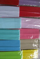 12 Solid Color Headbands 3 Choices Light, Dark, M Continuous Stretch Lot Nylon