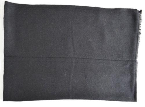 100/% Black Cashmere Shawl Pashmina Scarf Wrap Stole Women Wool Soft Winter