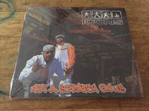 NEW-RARE-Westcoast-Underground-g-funk-Hip-Hop-ICONS-Not-A-Scratch-On-Us-CD