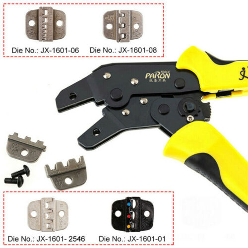 Crimper Clamp Tool 0.14-1.5mm² Wire Ratchet Crimping Terminal JX-1601-08 C8t