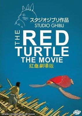 DVD Anime Studio Ghibli THE RED TURTLE Movie A Film + Free Shipping